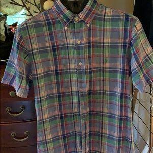 Ralph Lauren Shirts - Ralph Lauren Mens Sz S short sleeve 💯 %linen